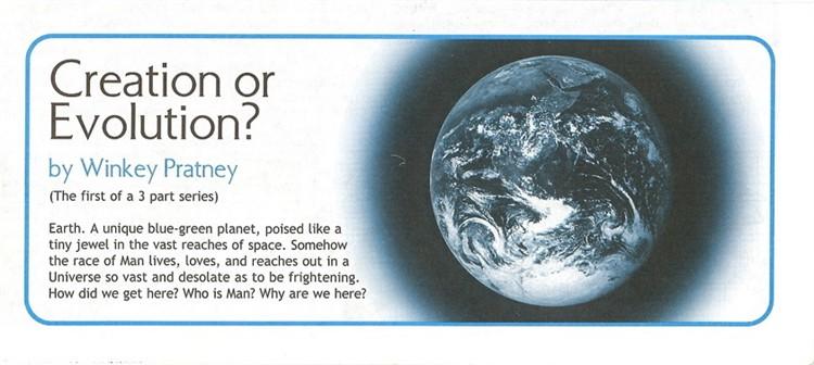 Last Days Ministries : Creation Or Evolution? Part 1