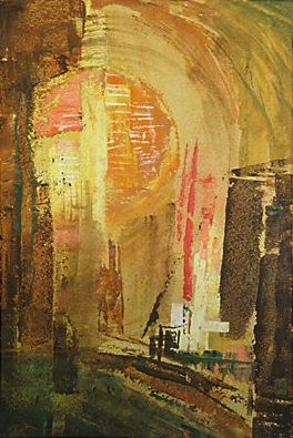 Vee Alexander Sun Abstract