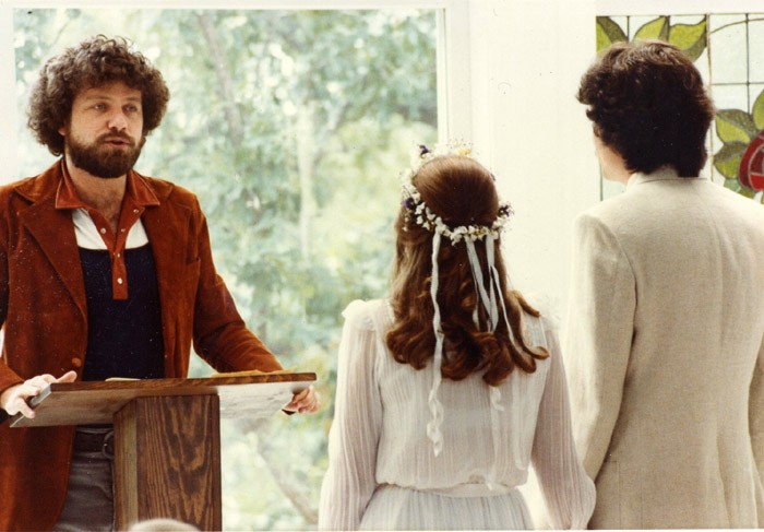 Performing a Wedding 1982